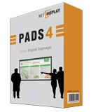 pads digital signage trial